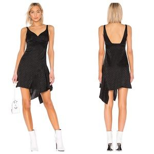 Off-White Logo Short Love Dress in Black Small 40
